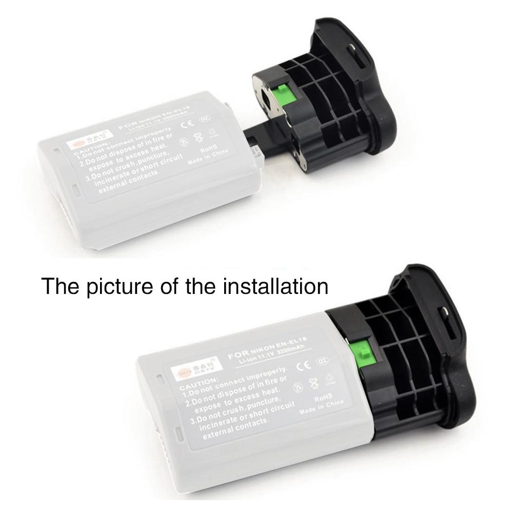 Увеличением фокусного расстояния Mcoplus BL-5 аккумуляторная камера Крышка для Nikon EN-EL18 EN-EL18A Батарейная ручка MB-D18 MB-D12 для NIKON D850 D800 D800E D810