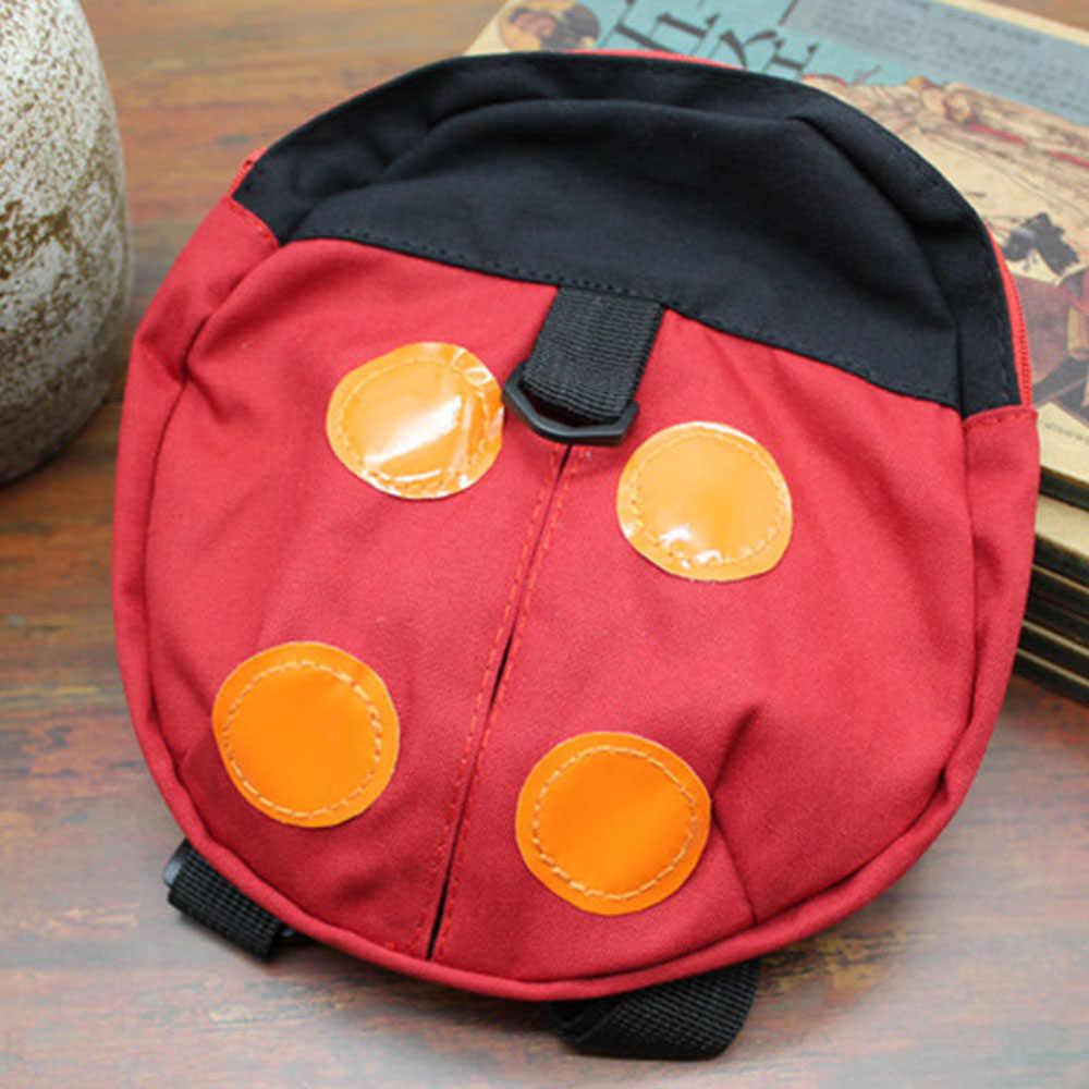 34f0db8274 ... ISKYBOB Walking Safety Backpack Harness Reins Toddler Bag For Kids  Children Ladybug ...