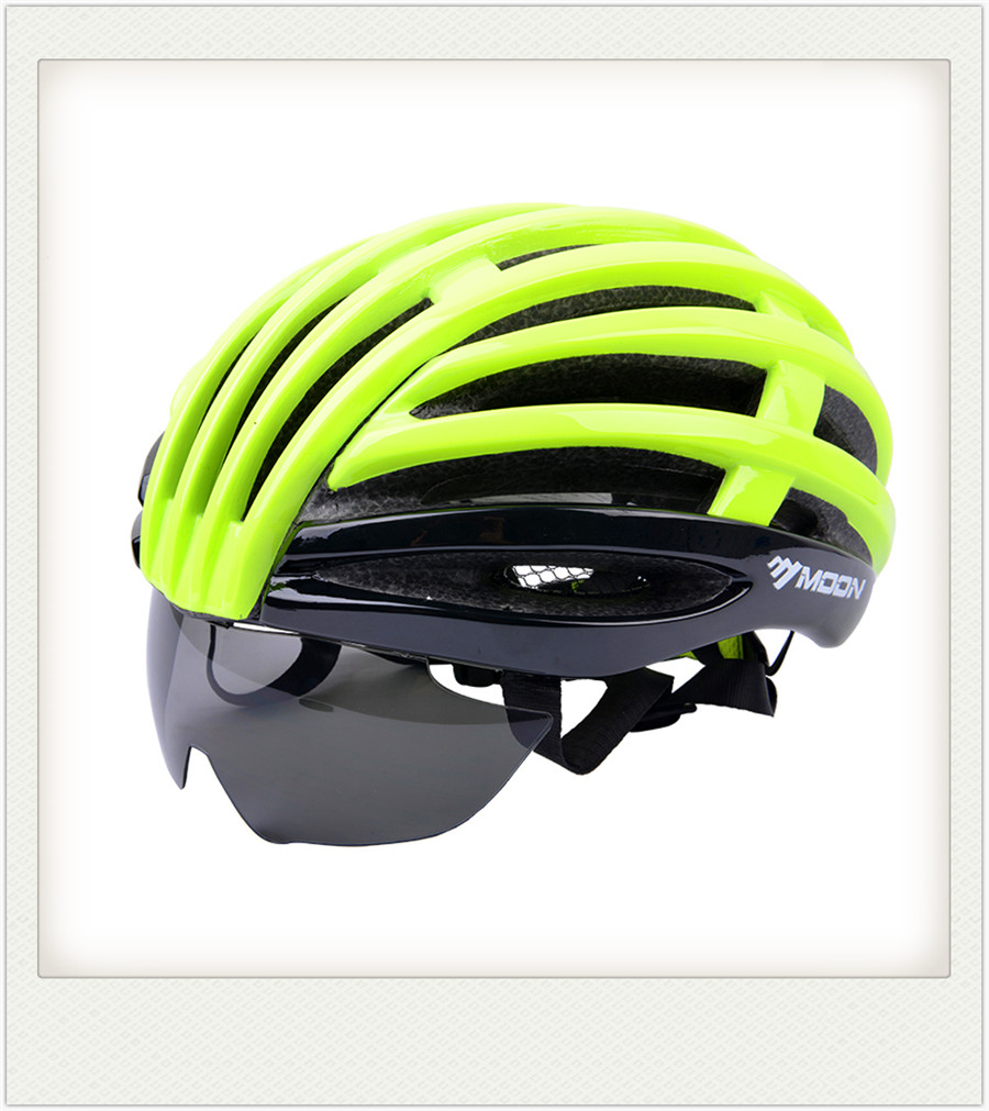 2018 NEW Style MTB MOON brand adult helmet sports HOT SELLING HIGH QUALITY IN-Mold BICYCLE PC EPS Mountain Bike Cycling HELMET moon 2017 in mould led bicycle helmet
