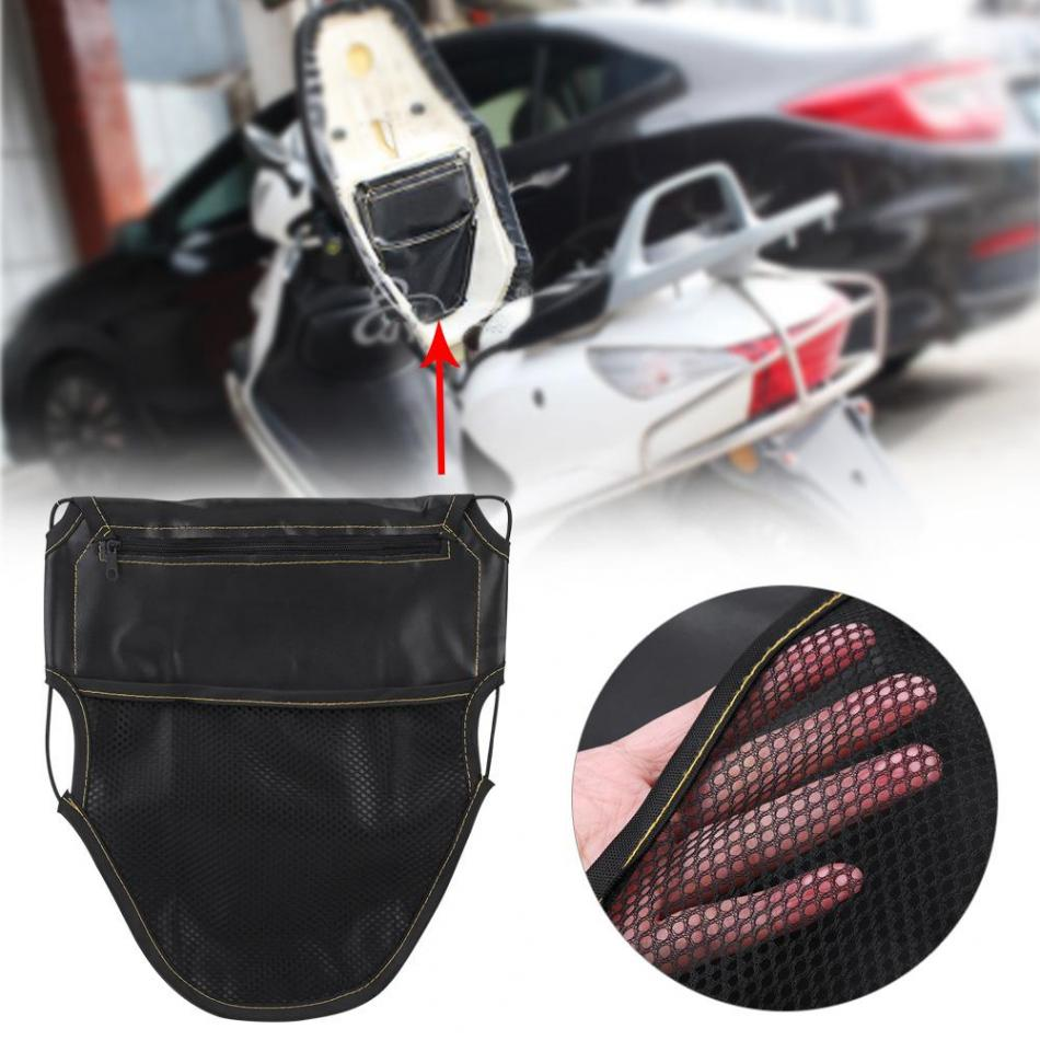 Motorcycle Scooter Seat Bag Scooter Under Seat Storage Pouch Bag Organizer PU Leather Under Seat Storage Pouch 2018 call of duty advanced warfare army