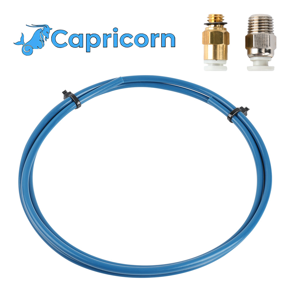 Capricorn Bowden PTFE Tubing XS Series 1 Meters For 1.75mm Filament ID1.9mm OD4mm New Teflon Tube 3D Printer Parts