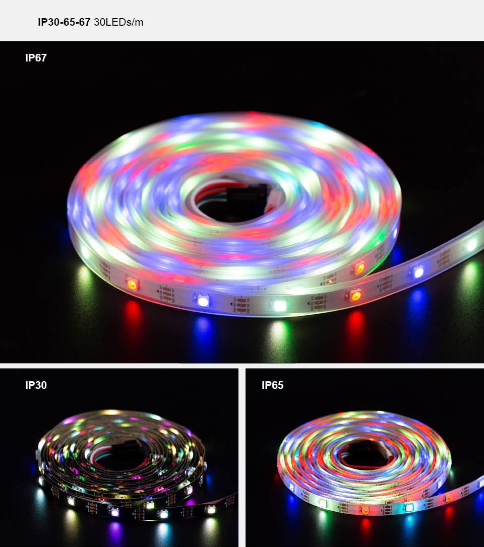 HTB1thi XPDuK1Rjy1zjq6zraFXad SK6812 RGBW (similar ws2812b) 4 in 1 1m/4m/5m 30/60/144 leds/pixels/m individual addressable led strip wwa ww nw IP30/65/67 DC5V