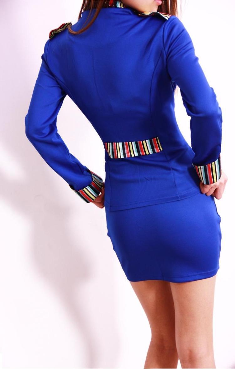 2016-New-Korean-Spring-Summer-Fashion-Women-Skirt-Suits-Career-OL-Blazer-Skirt-Office-Coat-Jacket (2)