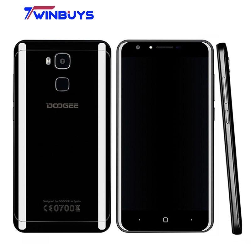 "Цена за Y6 piano black 4 г lte смартфон doogee 3200 мАч 5.5 ""android 6.0 Octa ядро MTK6750 4 Г RAM 64 ГБ ROM Отпечатков Пальцев 13MP Мобильный телефон"