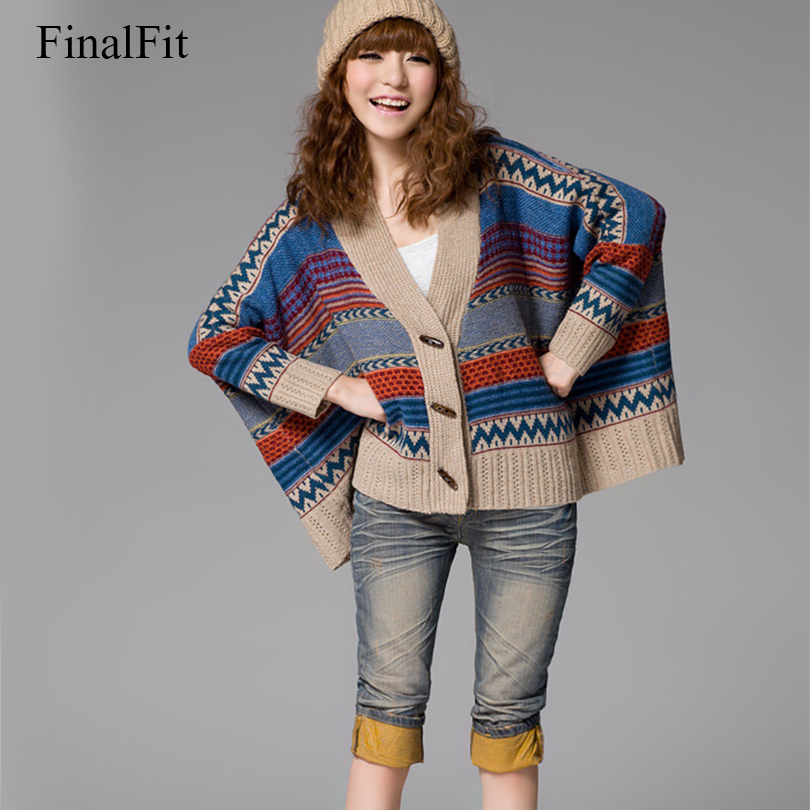 FinalFit Fall and Winter Clothes Pregnant Women Cardigans  Maternity Sweater Coat  Knitwear