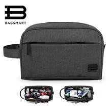 BAGSMART 2017 Multifunction Nylon Makeup Organizer Bags For Women Cosmetic Bags Toiletry Kits Women Travel Bags Ladies Bolsas