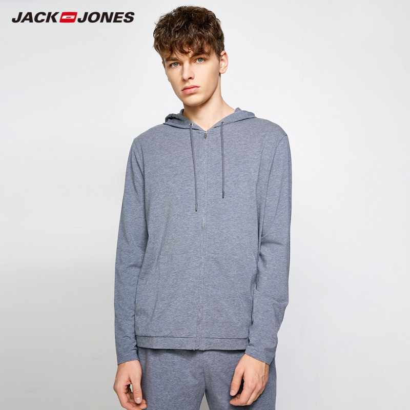 Jack Jones/мужские осенние Топы на молнии с длинными рукавами E | 2183HE503