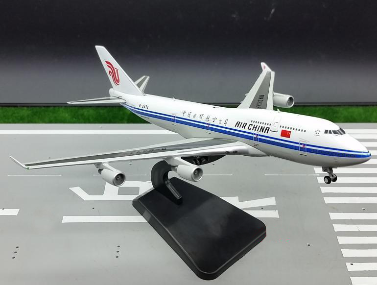 JC WINGS Limit 1: 400 China International Airlines  747 Alloy aircraft model B-2472 Favorites Model брюки mango кожаные брюки lola