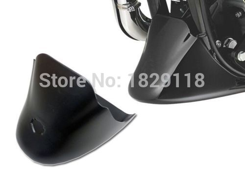 ФОТО RPMMOTOR Black Front Fender Bottom Spoiler Mudguard for Harley Sportster XL 883 1200