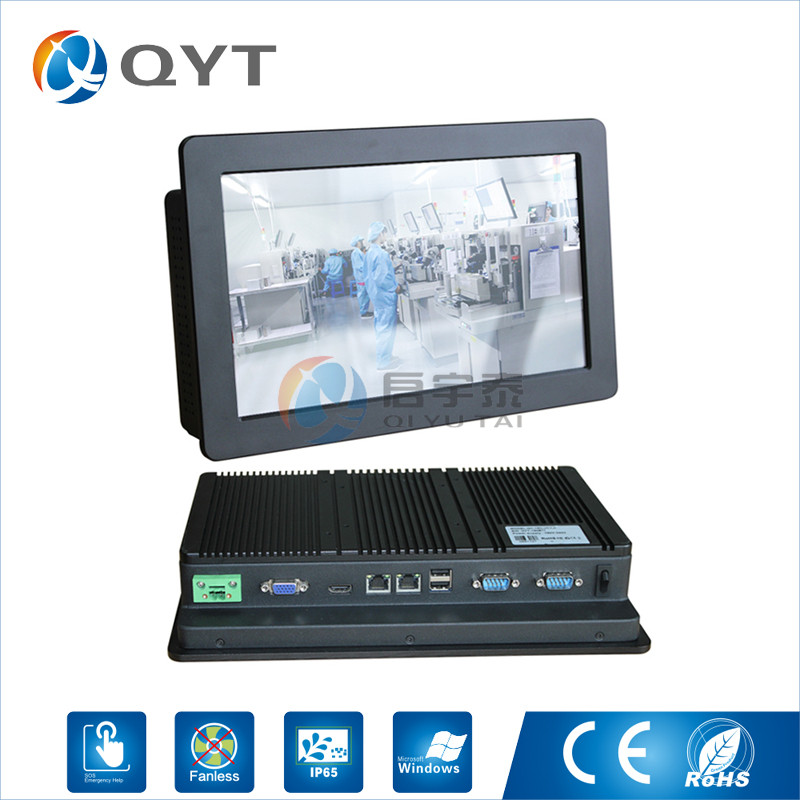Intel N2800 1.86GHz industrial computer 2LAN/2rs232/2usb 11.6 embedded panel pc 2gb ddr3 32g ssd touch screen 1366x768 цена