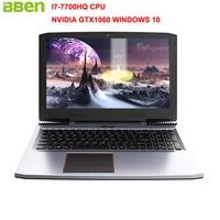 BBEN G16 15 6 Win10 Laptop Gaming Computer Intel I7 7700HQ CPU NVIDIA GTX1060 6G Ram