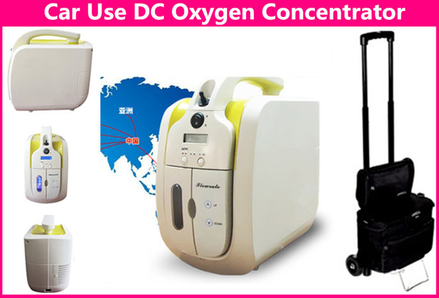 DC12V Car Use Oxygen Concentrator CE Approved Portable Oxygen Generator for Health Care and Medical Use O2 Making Machine