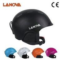 LANOVA brand professional ski helmet adult ski helmet Ms skating / skateboard helmet multicolor snow sports helmets