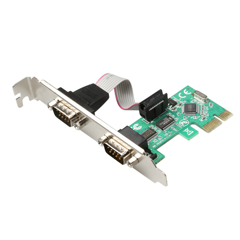 PCI-E serial card pcie PCI Express RS232 interface industrial expansion ports PCI E to RS232 port add on cards