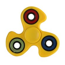 Kids Adults Finger Spinner Anxiety Stress Relief Focus Torqbar Brass Finger Gyro Kids Toys Gift White/Yellow/Red(China)
