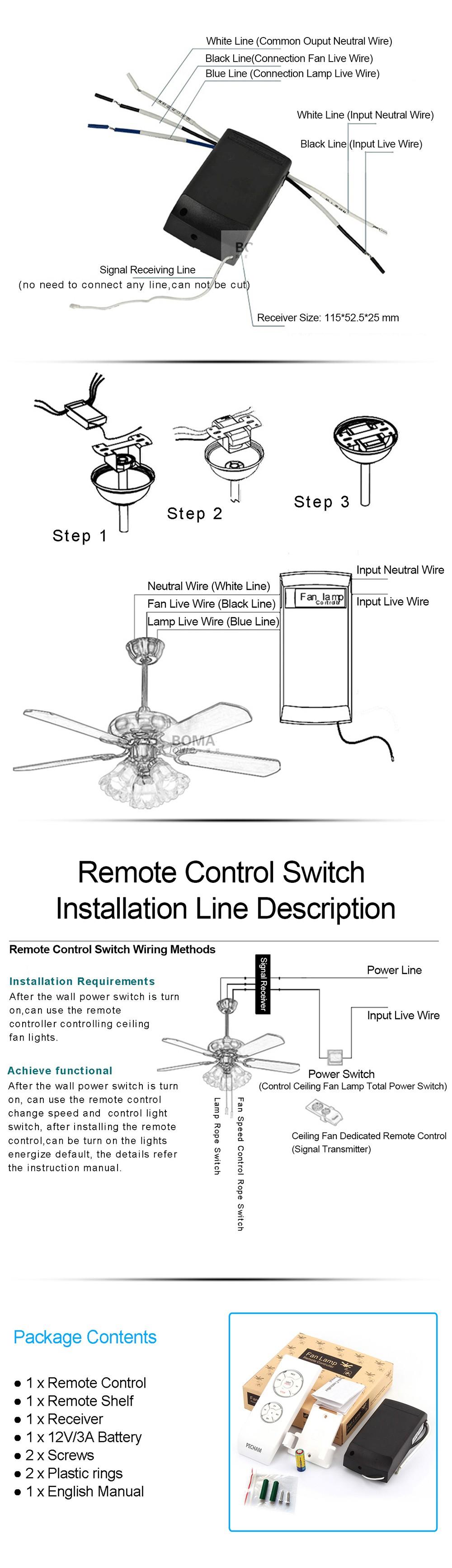 Pecham Universal Remote Control For Ceiling Fan Timing Ceilingfanwiringremote1powerwirejpg 01 02 03 04