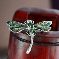 Reinem Silber Ornamente Libelle Anhänger Brosche Amphibien Shell Aushöhlen Von Schnitzen Muster Oder Entwürfe Auf Holz Alternative