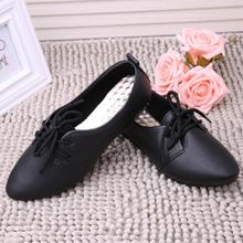 women flats pu leather rubber shoes pointed toe suede lace-up platform derby sapato feminino casual ladies shoes Jan6
