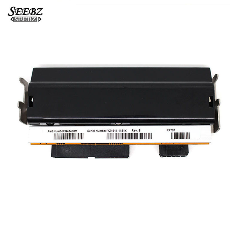 Condition Printer head For Zebra S4M printhead Thermal Barcode Printer 203dpi Part Number G41400M brand new genuine printer printhead replace for zebra t402 2742 7421 203dpi barcode printer parts