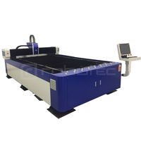 Raycus IPG Carbon Steel Stainless Metal Sheet Cnc Fiber Laser Cutting Machine For Sale