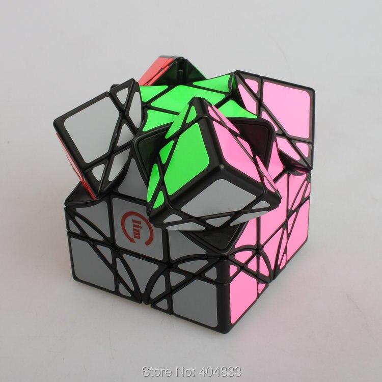 Funs Dreindel Lim Cube Black transparent blue transparent pink Yellow pink Cubo Magico Educate Toy for