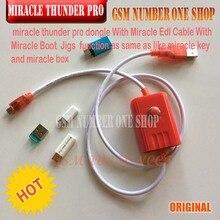 Caja de milagro/milagro trueno pro clave milagro pro Thunder dongle + cable milagro trueno pro dongle no necesita miralce caja y clave