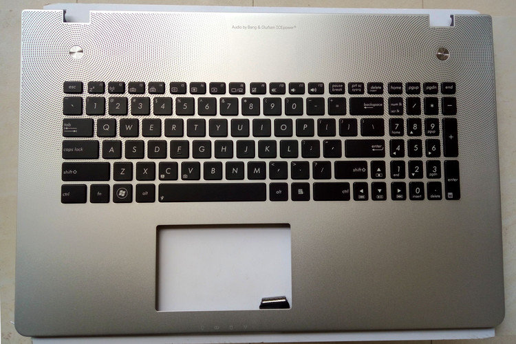 New for ASUS N76 N76V N76VB N76VJ N76VM N76VZ palmrest English US keyboard backlit cover with C shell non-touchpad new russian keyboard for asus n76 n76v n76s n76vm n76vb n76vj n76vz ru laptop keyboard with backlit palmrest upper