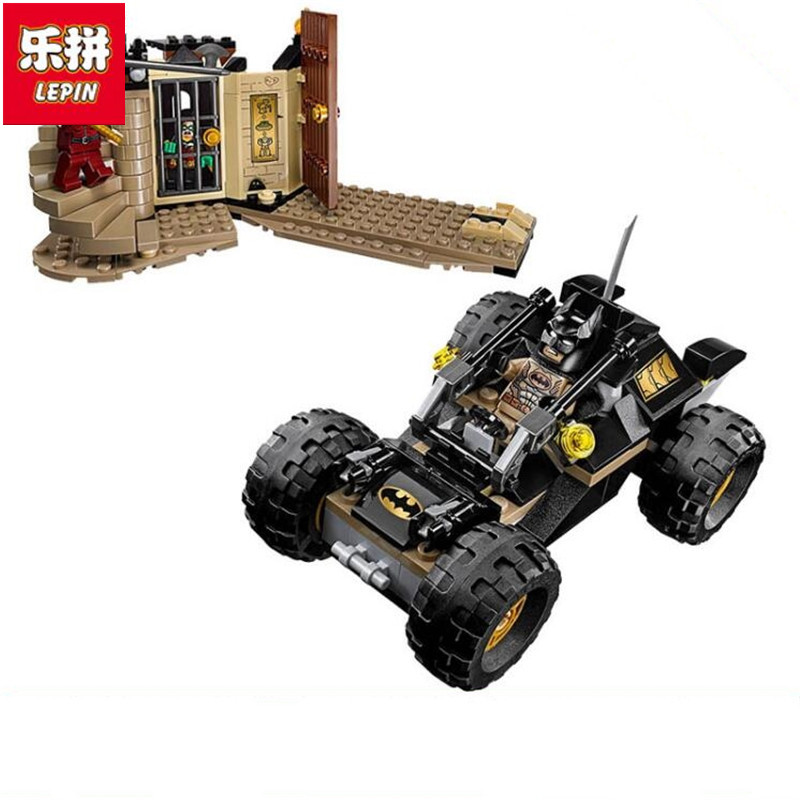 Lepin 07039 Super Heroes Batman deliverance from the Ra's al Ghul Building Block Set Toy Robin Compatible with loz dc comics super heroes mini diamond building block batman