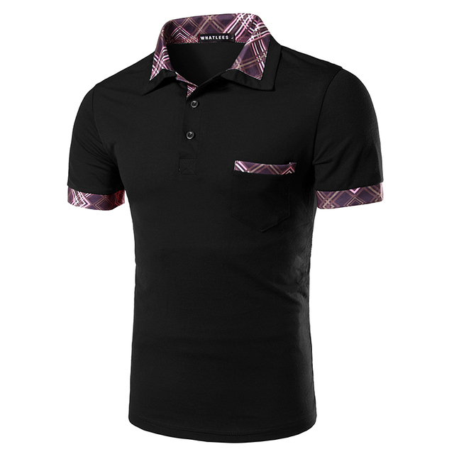 New Arrival Men Casual Polo Shirt Short Sleeve Male Slim fit Summer Polo High Quality Personal Design Collar Fashion Polo