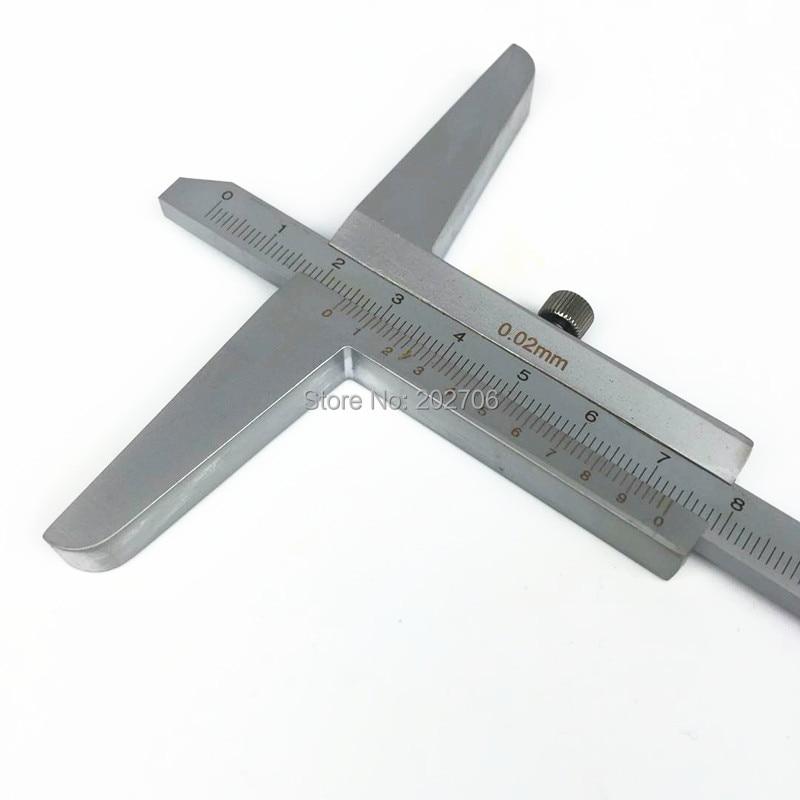 """200 мм """" штангенциркуль глубины 0-200 мм измеритель глубины измерительный инструмент глубина штангенциркуль микрометр"""