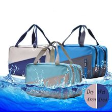 Wet And Dry Separation Unisex Clothing Sorting Organize Women  Travel Bags Hand Luggage Bag Mens Duffle Bag