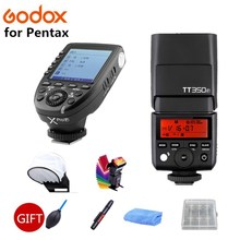 Godox V350S TTL HSS 1/8000s Speedlite Flash with Built-in 2000mAh Li-ion Battery with Xpro-S Flash Transmitter for Sony + GIFT godox v350n mini flash ttl hss 1 8000s 2 4g x system built in 2000mah li ion battery camera speedlite flash for nikon camera