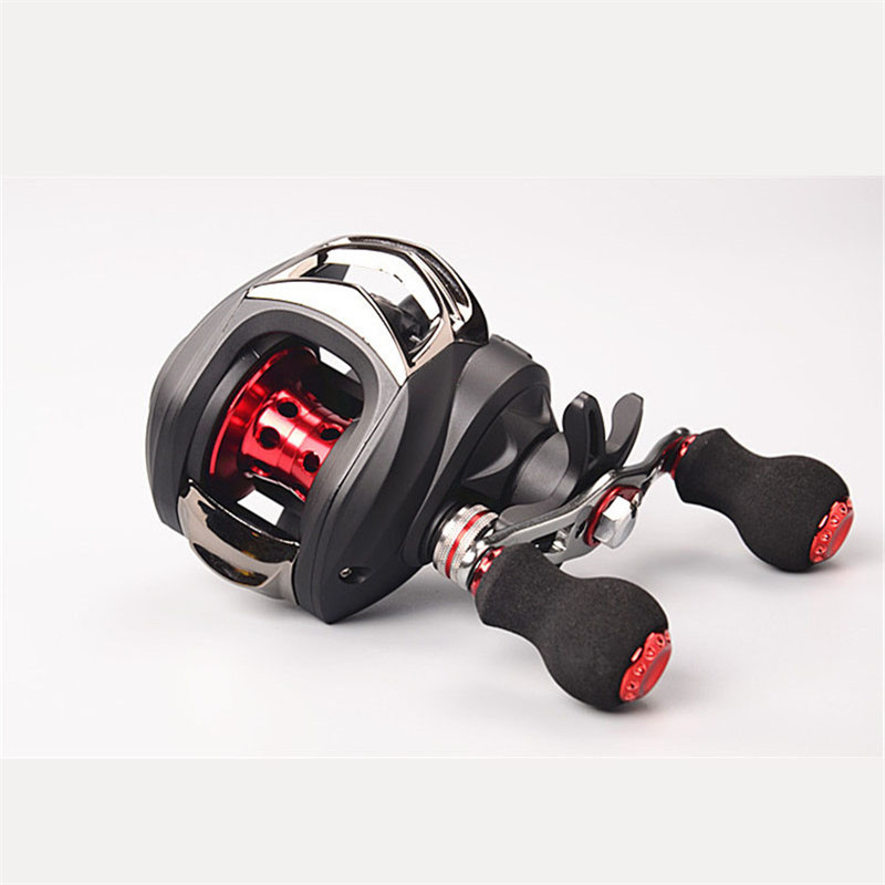 Hot Super Baitcasting Reel Fishing Fly 10+1 Ball Bearings Right/Left Hand Strong Fishing Reel Seat Boat Sea Fishing Tackle