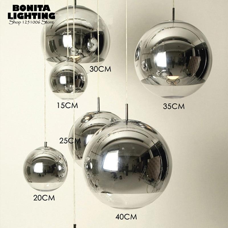 Pendant Lights Modern Led Pendant Lights Orifice Bronze Plating Glass Ball Pendant Lamp Ball Bar Corridor Nordic Lamp Restaurant Hotel Hanglamp Back To Search Resultslights & Lighting