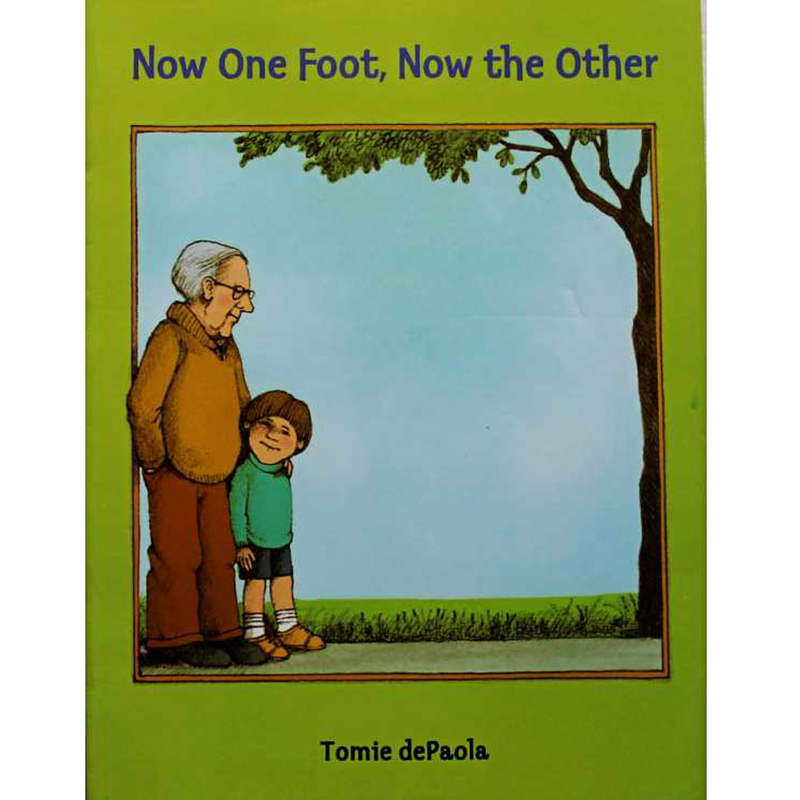 Objective Now One Foot,now The Other By Tomie Depaola Educational English Picture Book Learning Card Story Book For Baby Kid Children Gift Home