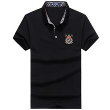 2018 Shirts  Men Classic Solid Shirt Mens Breathable Slim Fit tshirt short sleeve new arrival Homme Poloshirt 8001