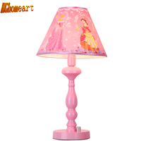 Hghomeart Kids Room Pink Bedside Lamp Led E27 Chinese Contemporary Table Lamps Home Lighting Modern Staircase Desk Led Lamp