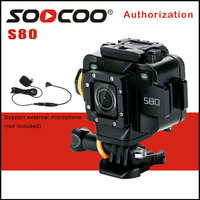 SOOCOO S80 Action Camera 1080P Full HD 1 5 Screen Action Cam 20M Waterproof Support External