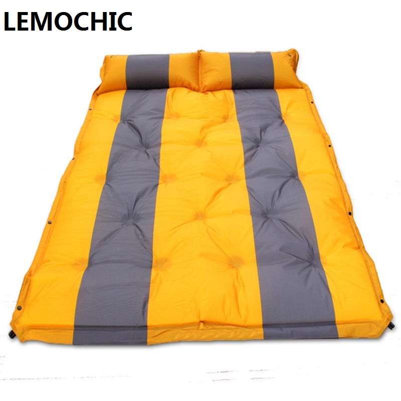 ФОТО camping equipment barbecue matelas gonflable tourist tent  picnic blanket  beach mat High quality yoga pad air inflatable