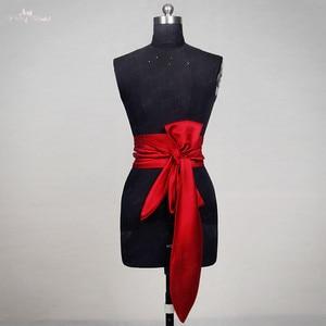 Image 2 - RSS12 Red Satin Wedding Belt