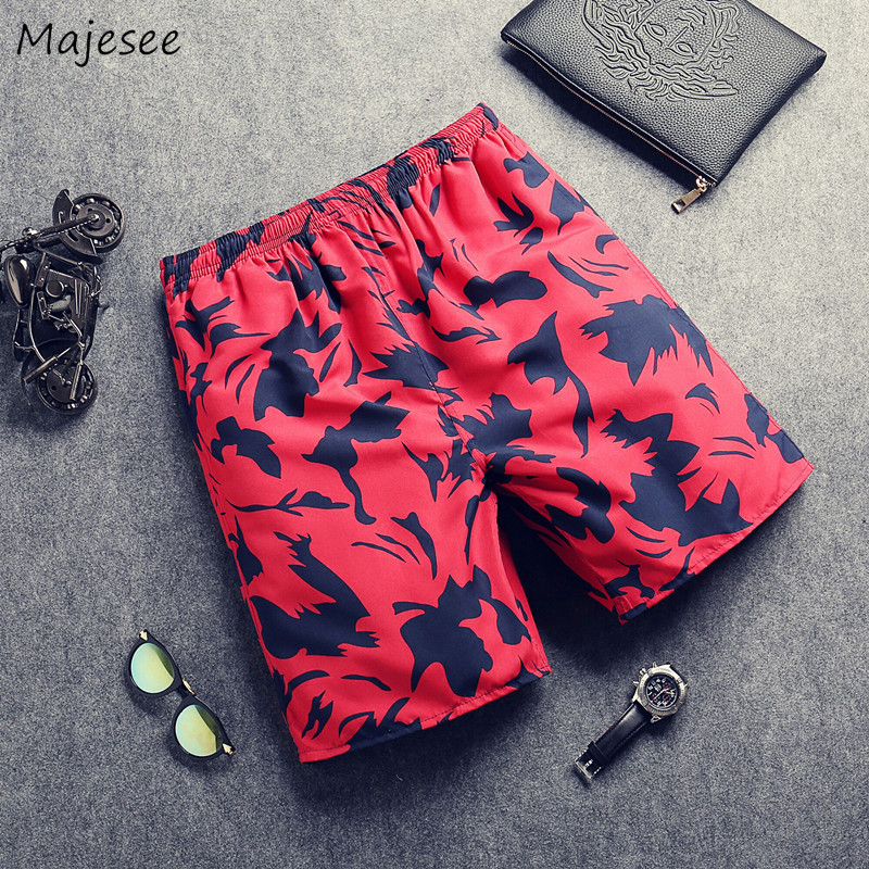 Board Shorts Men Swimming Short Quick Drying Trunks Swimsuit Surfing Elastic Waist Leisure Mens Swimwear Thin Breathable Chic
