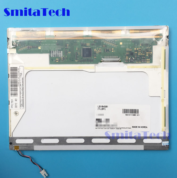 10.4 inch industrial LCD screen LB104S01(TL)(01) tft lcd display panel LB104S01-TL01 LB104S01 TL01 комбинезон stylove комбинезон
