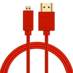 Image 4 - Shulian 고속 마이크로 HDMI (유형 D) HDMI (유형 A) 케이블 1080P 3D 및 4K 해상도 이더넷 준비 1M 1.5M 2M 3M