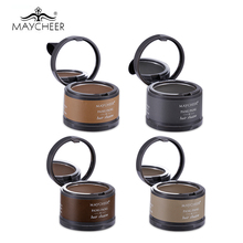 2016 Brand Makeup Hair Line Shadow Powder Eyebrow Powder 2 in 1 Rose Extract Easy to Wear Make Up Eye Brow with Mirror & Puff