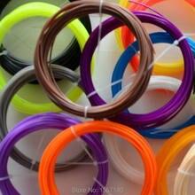 50M 3D Filament PLA 1.75mm 3D Printing Materials For 3D Pen 3D Printer