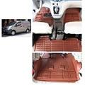 Frete grátis esteira do assoalho do carro de couro para nissan nv200 2010-2017 Chevrolet City Express Nissan Evalia NV200 Nissan Vanette