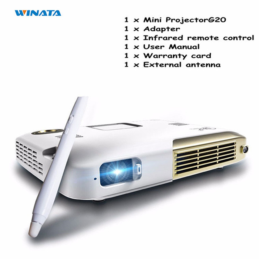 G20 Android Smart Projector HD1080P LED Home Business Proyector 4K DLP Lntelligent Handwriting Touch Mini Led Projector with Pen