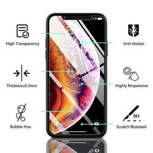 Image 2 - ZRSE [3 Pack] Ausgeglichenes Glas schirm schutz schützender Glas für iPhone X iPhone XS iPhone XS Max XR 11 Pro Max 5 6 S 7 8 Plus