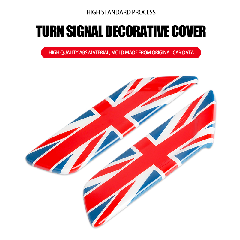 lowest price Union Jack Car Sticker Turn Signal Fender Decoration Cover Case for Mini Cooper Clubman F54 F55 F56 F57 Car-styling Accessories