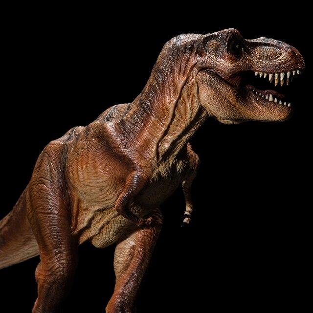 2018 Jurassic World  Dinosaur model Ancient biological Adult Collection toys Rex Tyrannosaurus 1